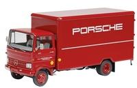 Mercedes Benz LP 608 Porsche caja cerrada, Schuco 22370