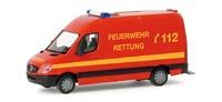 """Mercedes-Benz Sprinter RTW """"Feuerwehr"""" Herpa 048026 escala 1/87"""