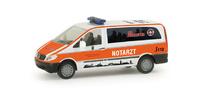 """Mercedes-Benz Vito Nef """"Johanniter Giessen"""" Herpa 048194 Masstab 1/87"""
