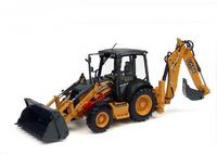 Mixta Retroexcavadora Case 580 ST Universal Hobbies 8079 escala 1/50
