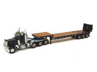 Peterbilt 379 Day Cab - plataforma con rampas, negro Sword Models sw2027-k escala 1/50