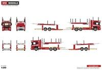 Scania P transporte coches Wsi Models 04-2004