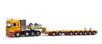 Scania R High - Nooteboom MCOPX Weisbauer Imc Models 1/50