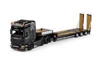 Scania R Topline + plataforma baja con rampas  Tekno 69597 escala 1/50
