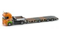 Scania R6 HL + Nooteboom Tieflader Holtrop Imc Models 1/50