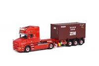 Scania T Topline + 20FT contenedor Wsi Models 01-1324