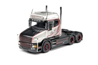Scania T6 Highline 6x2 Silver Griffin Tekno 69754 Masstab 1/50