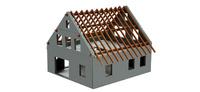 Set construccion casa Herpa 158800 escala  1/87