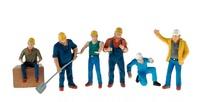 Set de figuras obreros serios, Conrad Modelle 99801 1/50