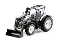 Tractor Valtra T174 con cargadora frontal Wiking 77815 escala 1/32