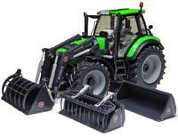 Traktor Deutz Agrotron 6190 C 3 Werkzeuge Weise Toys 1045 Masstab 1/32
