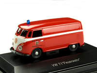 Vw T1 - Feuerwehr Schuco 452573400 Masstab 1/87