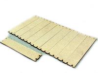 tablas para crear un fondo firme en la obra 10 ud Zapf Modell 5007811 escala 1:50