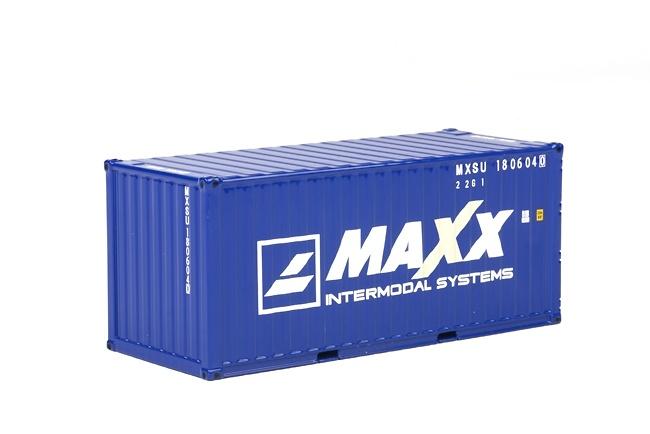 20 pies contenedor Maxx Wsi Models 04-1136 escala 1/50
