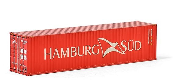 40 pies contenedor Hamburg Süd Wsi Models 04-2034 escala 1/50