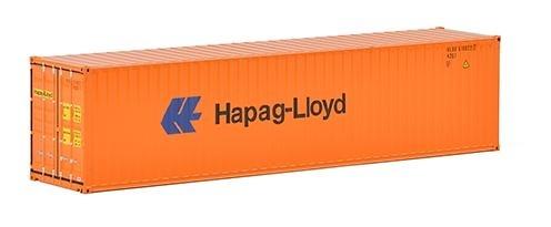 40 pies contenedor Hapag Lloyd Wsi Models 04-2033 escala 1/50
