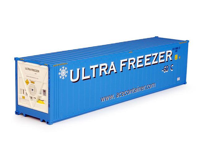 Ace Engineering Ultra Freezer contenedor 40 pies Tekno 67103 escala 1/50
