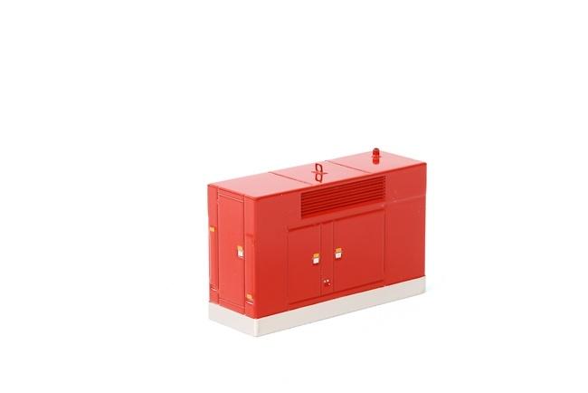 Agregado rojo Wsi Models 04-1147 escala 1/50