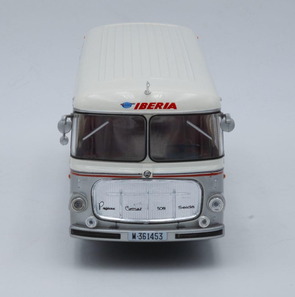 Autobús Pegaso 5061 - Seida - Iberia (1963) - Salvat - escala 1/43