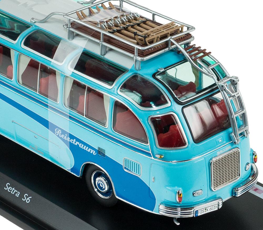 Autobus Setra S6 Reisetraum Schuco 450283800 escala 1/43