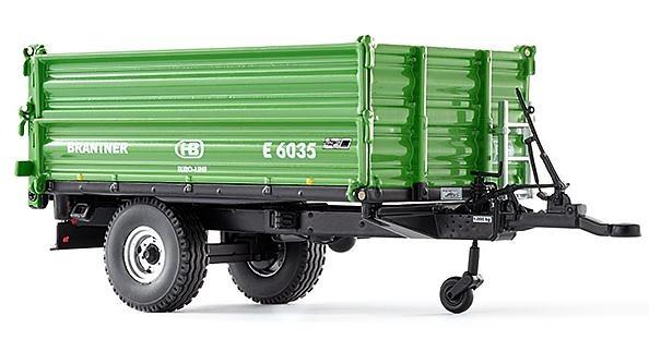 Brantner E 6035 remolque Wiking 77348 escala 1/32