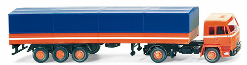 Buessing BS16L Camion Trailer, Wiking 1/87