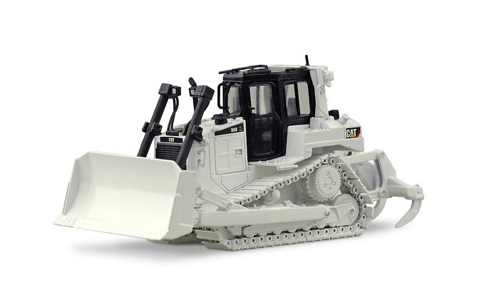 Bulldozer Cat D6R blanco Tonkin Replicas TR60001-02