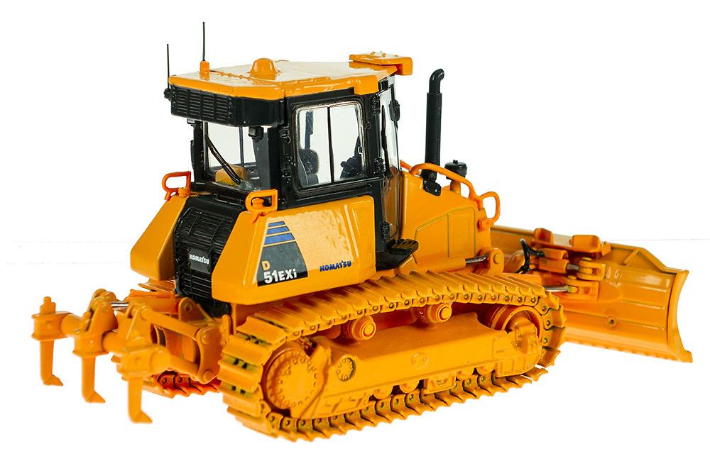 Bulldozer sobre orugas Komatsu D51EXi First Gear 3291 escala 1/50