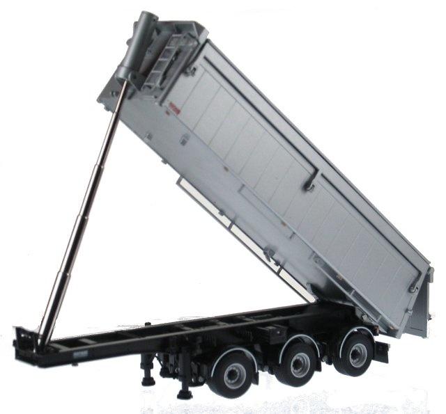 Bulthuis semiremolque basculante para arena / asfalto, Wsi Models 03-1003 escala 1/50