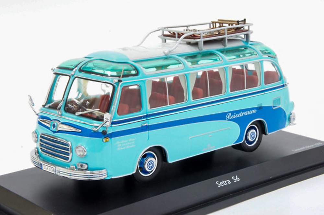 bus setra s6 reisetraum schuco 450283800 masstab 1 43. Black Bedroom Furniture Sets. Home Design Ideas
