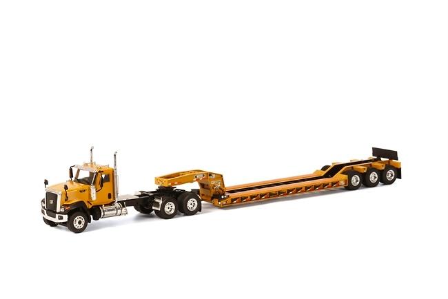 CT680 6x4 amrillo Rogers 3-ejes - amarillo Wsi Models 39-1008