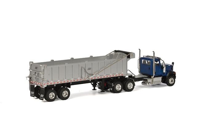 CT680 6x4 azul volquete Wsi Models 39-1003
