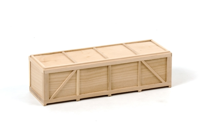 Caja de madera grande 18,5 cm para carga, Wsi Models