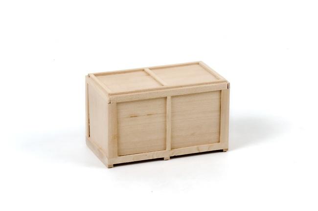 Caja de madera pequeña 11 cm, Wsi Models