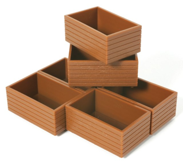 Cajas para patatas 1/32 Britains