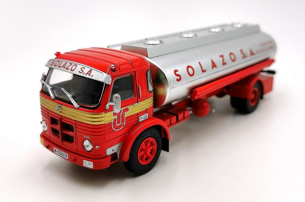 Camión Pegaso 1065 L Europa, Transportes Solazo 1967 - Salvat - escala 1/43