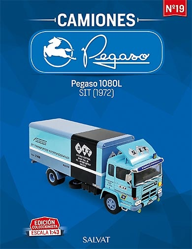Camión Pegaso 1080 L , año 1972 - Salvat - escala 1/43