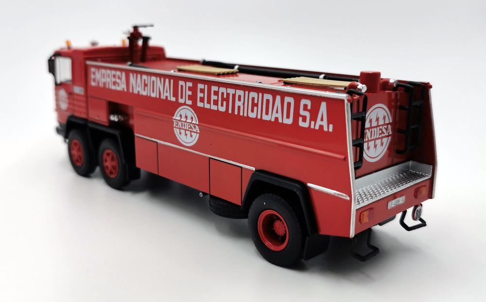 Camión Pegaso 1183/70, Bomberos Endesa 1980 - Salvat - escala 1/43