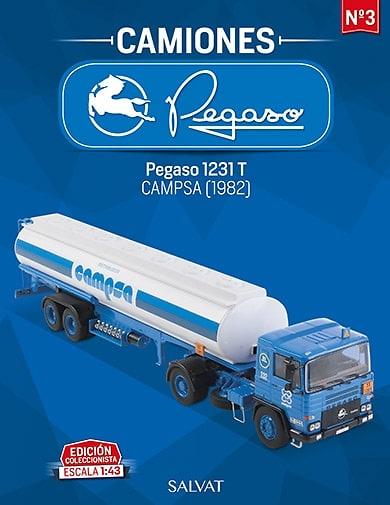 Camión Pegaso 1231T, Campsa 1982 Salvat escala 1/43