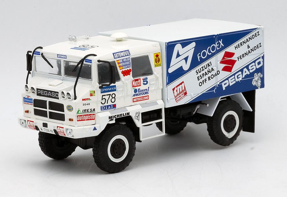 Camión Pegaso 3046 Paris Dakar, 1990 - Salvat - escala 1/43