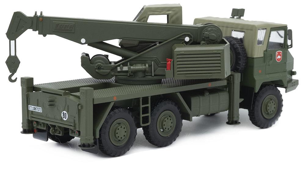 Camión Pegaso 7323, División Acorazada nº 1 Brunete, Ejército de Tierra, 1990, 1/43, Salvat