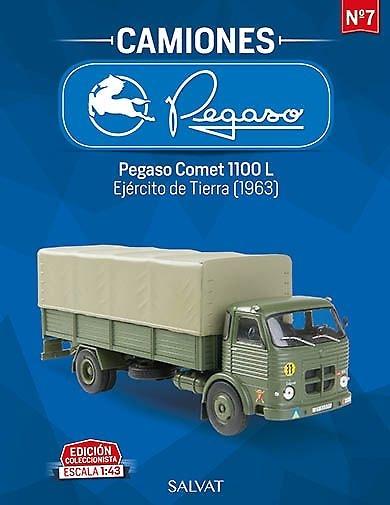 Camión Pegaso Comet 1100L, Ejercito de Tierra Español, 1963, escala 1/43