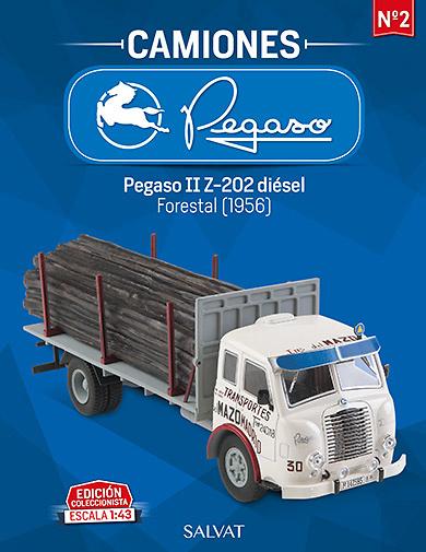 Camión Pegaso IIZ-202 diésel, Transportes Mazo - Salvat - escala 1/43