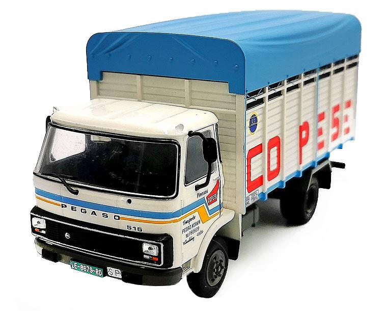 Camión Pegaso Sava 515 Copese, 1986 - Salvat - escala 1/43