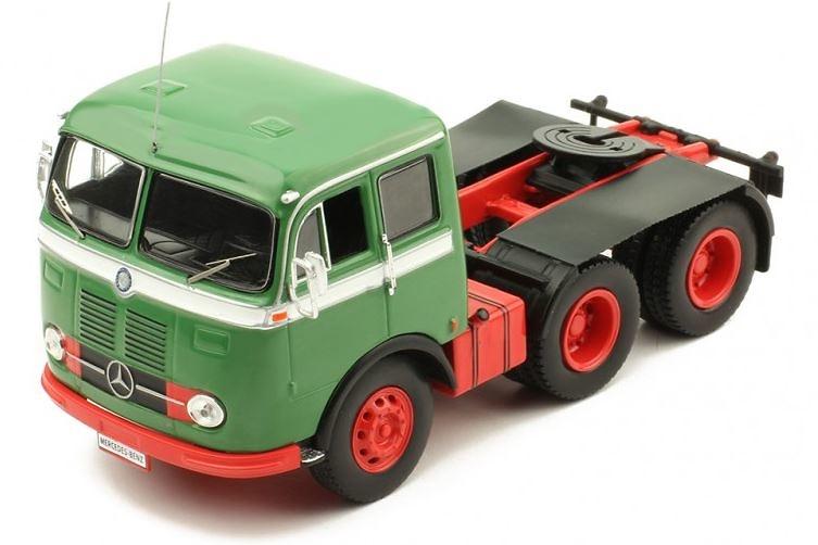 Camion Mercedes Benz LPS 333 - verde - Ixo Models 1/43