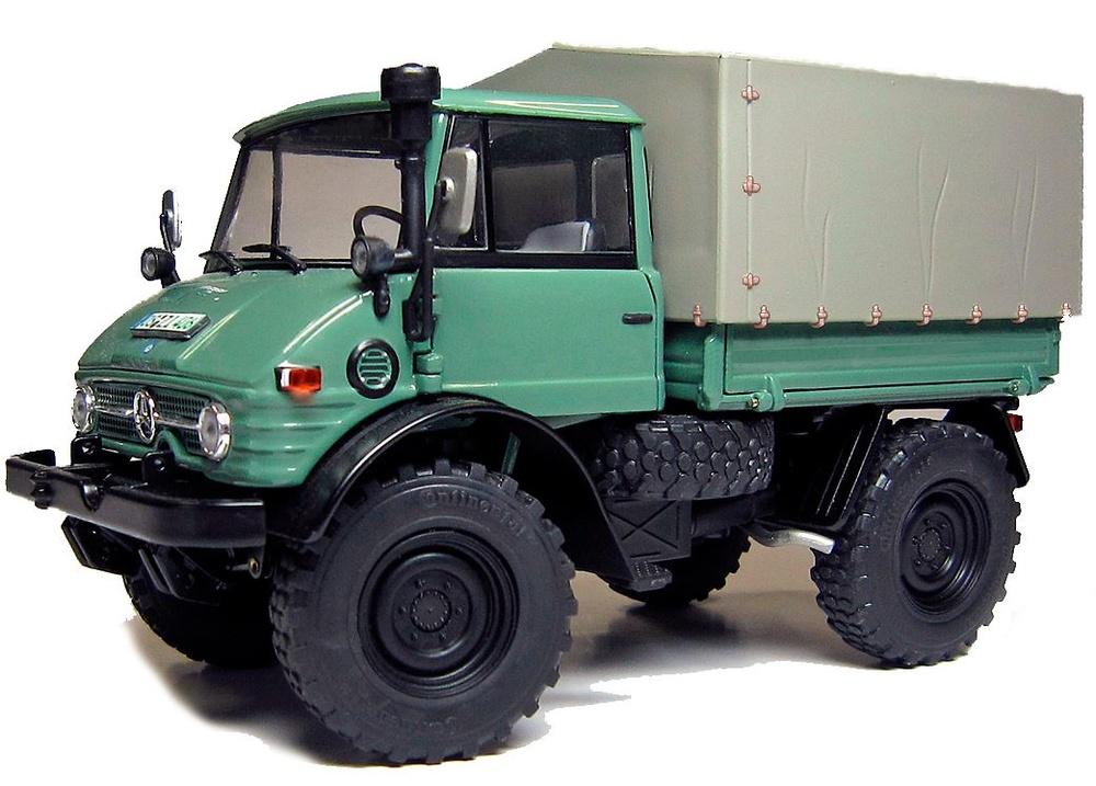 Camion Unimog 406 (U84) cabina cerrada Weise Toys 1012 escala 1/32