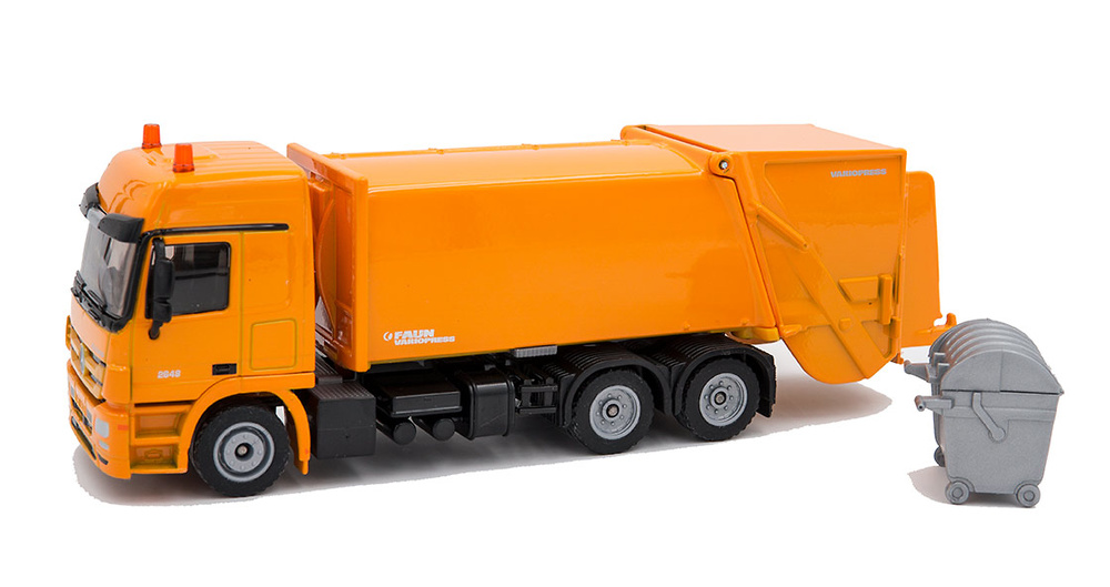 Camion de basura Mercedes - Faun Variopress Siku 2938 escala 1/50