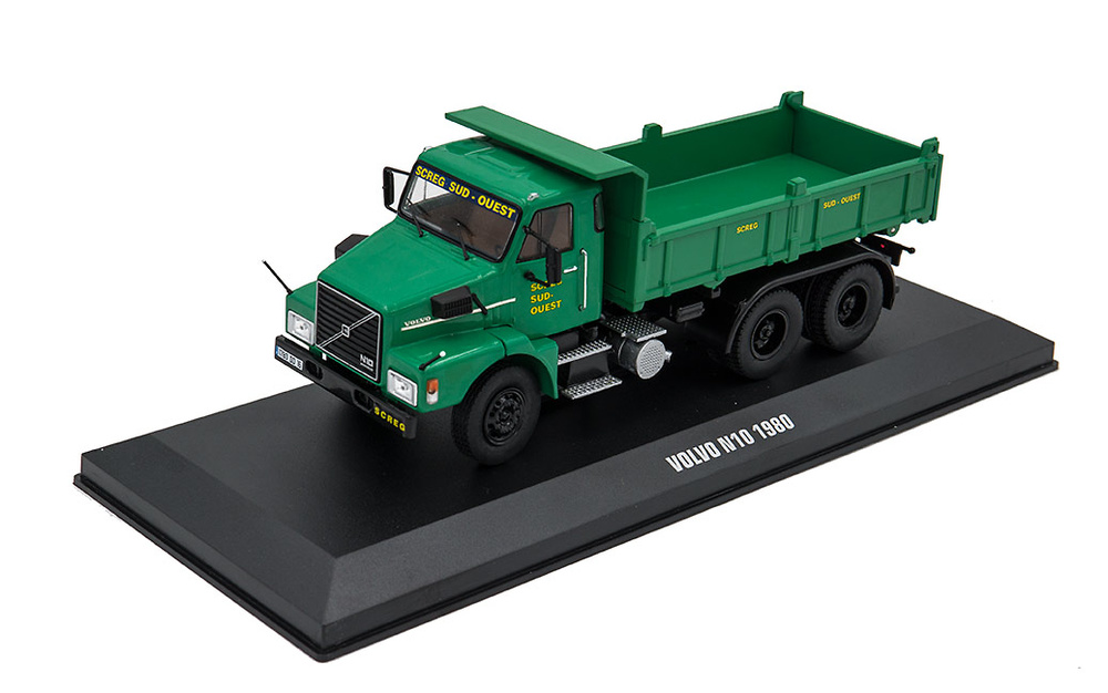 Camion volquete Volvo N10 (1980) - Ixo Models 1/43