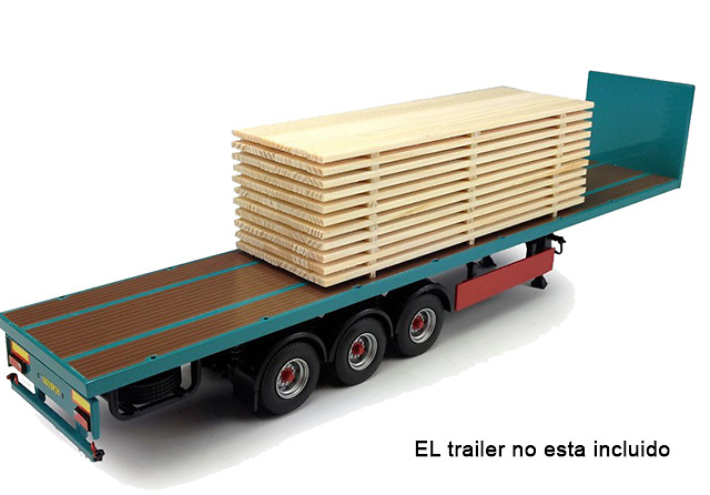 Carga para camiones maderas Tekno 68100 escala 1/50