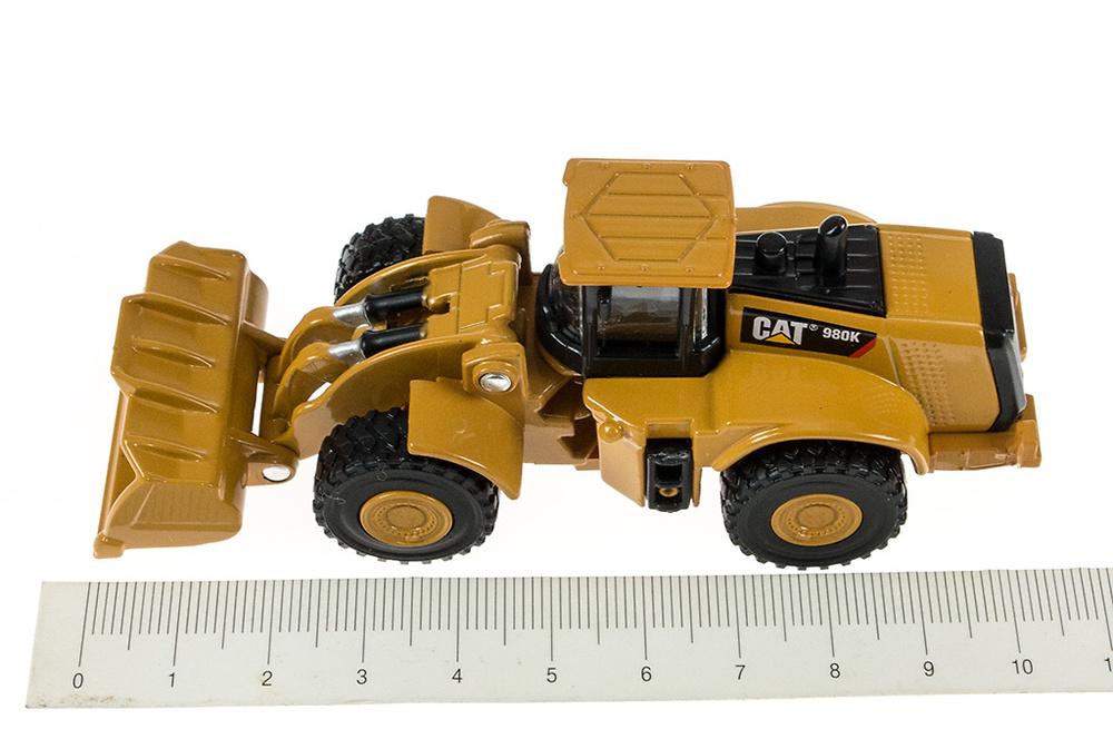 Cargadora Cat 980K - Toy State 39513 - escala 1/94